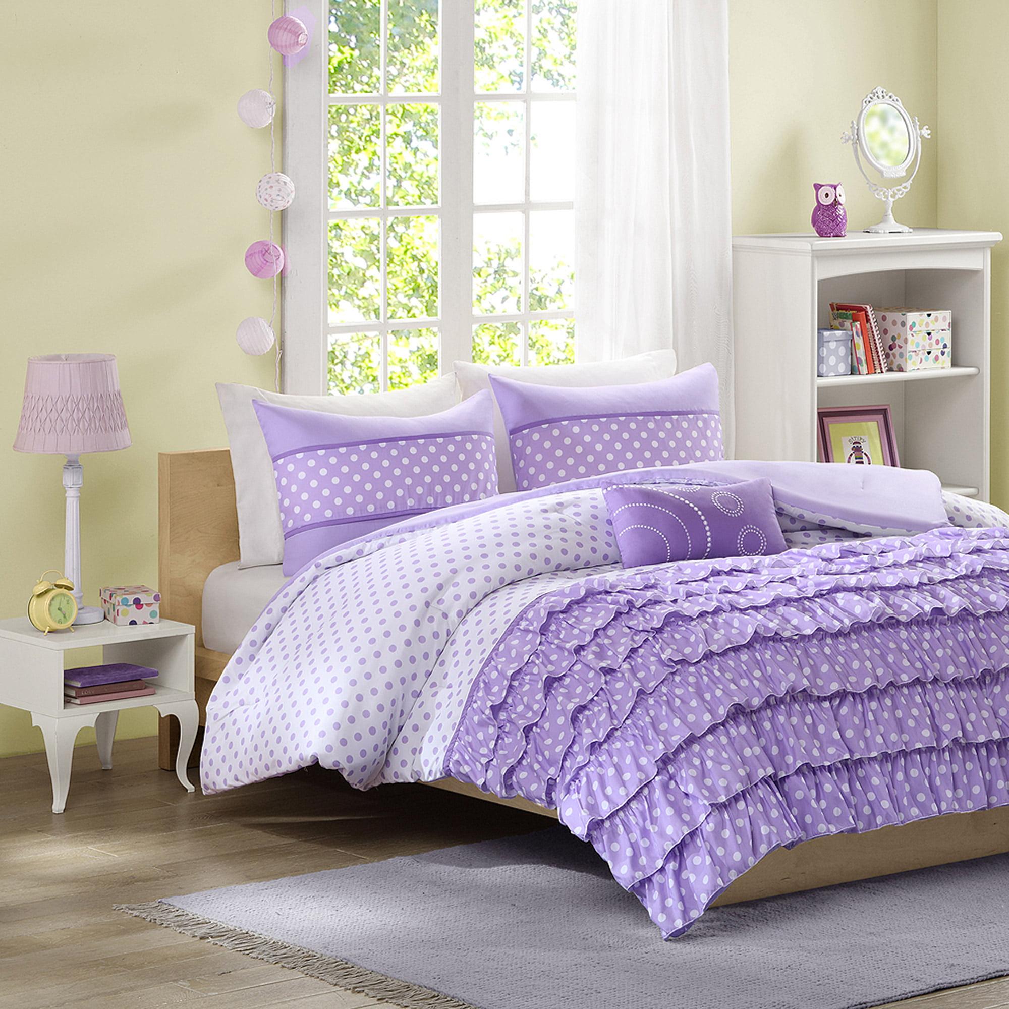 Home Essence Teen Lindsey Printed Comforter Bedding Set Walmart Com
