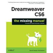 Missing Manuals: Dreamweaver Cs6: The Missing Manual (Paperback)