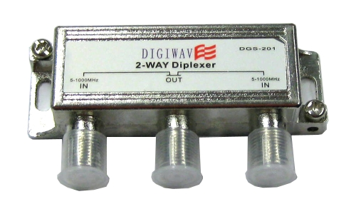 Digiwave 2 in 1 out Combiner for Offair Antenna by Digiwave