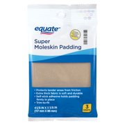 Equate Super Moleskin Padding Sheets, 3 Count