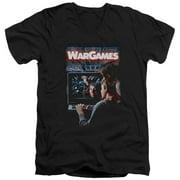 Wargames Poster Mens V-Neck Shirt