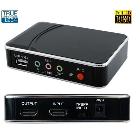 Digital Video Dvr - Premium Stand Alone Digital HDMI HD Componet Video DVR 1080p Recorder