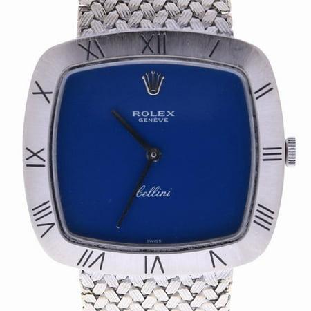 Rolex Cellini 2717 Gold Women Watch (Certified Authentic & Warranty)