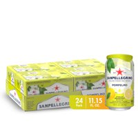 Sanpellegrino Grapefruit Italian Sparkling Drinks, 11.15 fl oz. Cans (24 Count)