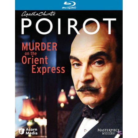 Poirot: Murder on the Orient Express (Blu-ray) (Poirot Murder On The Orient Express 2017)