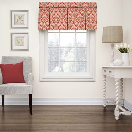 - Waverly Donnington Box Pleat Window Valance
