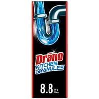 Drano Kitchen Granules Clog Remover, 8.8 oz