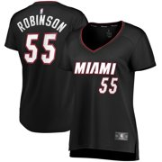 Duncan Robinson Miami Heat Fanatics Branded Women's Fast Break Replica Jersey - Black - Icon Edition