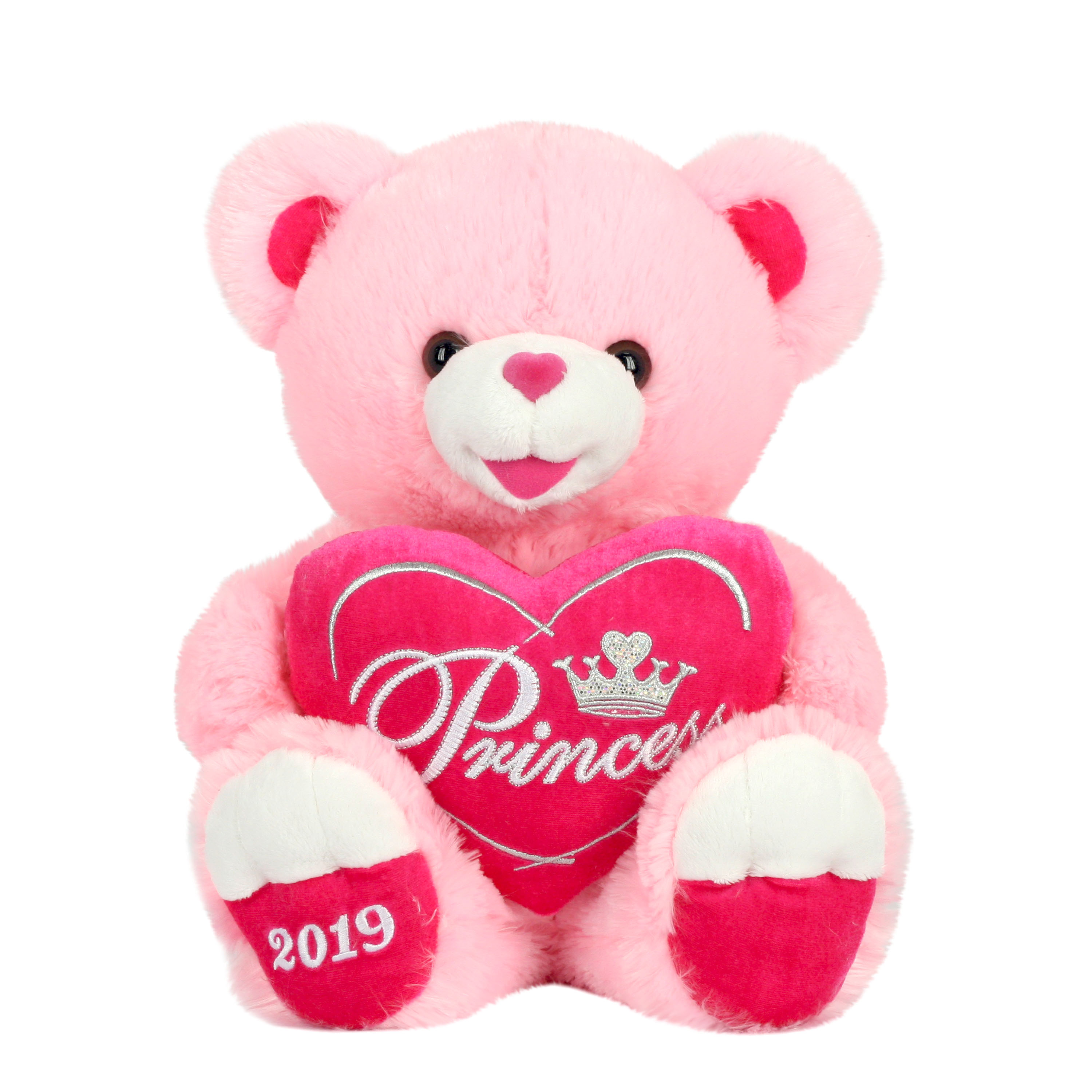 """Way To Celebrate 20"""" Sweetheart Teddy 2019- Pink"""