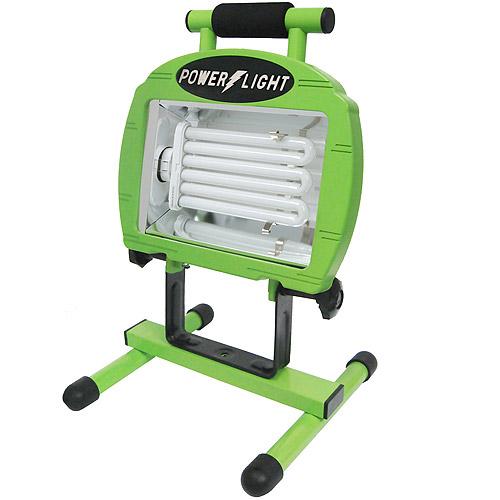 Designers Edge 65W Fluorescent Portable Work Light, 5' Cord, Green