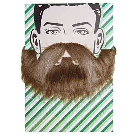 Self Adhesive Beard and Mustache Halloween Costume Accessory (Hipster Beard)