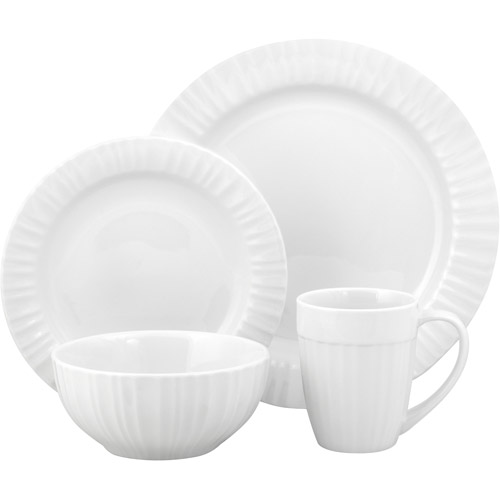sc 1 st  Walmart & Corningware French White 16-Piece Dinnerware Set - Walmart.com
