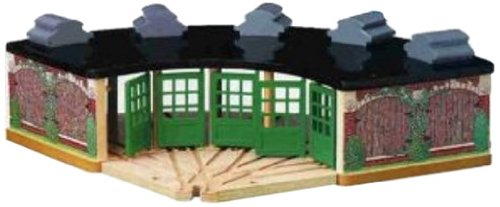 Thomas And Friends Wooden Railway Roundhouse by