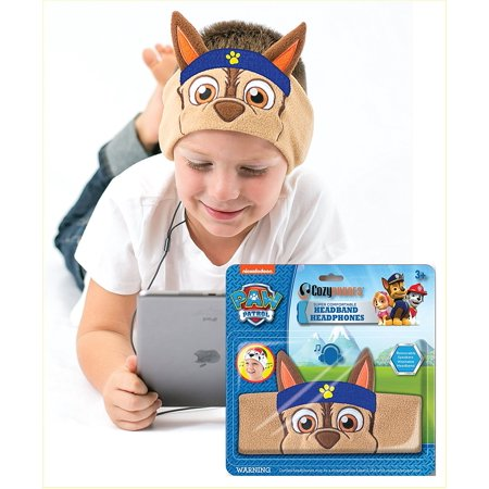 CozyPhones Paw Patrol Headband Headphones Volume Limited Children's Kids Toddler Chase