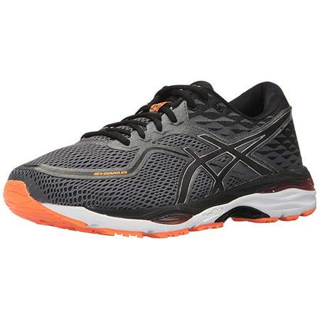 Asics Men's Gel-Cumulus 19 Carbon / Black Hot Orange Low Top Running Shoe - 10.5M