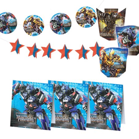 Transformers 'Revenge of the Fallen' Party-Time Room Decoration Kit (7pc)](Transformers Party Decorations)