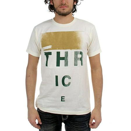 Band Merch Thrice Eye Chart T Shirt Walmart