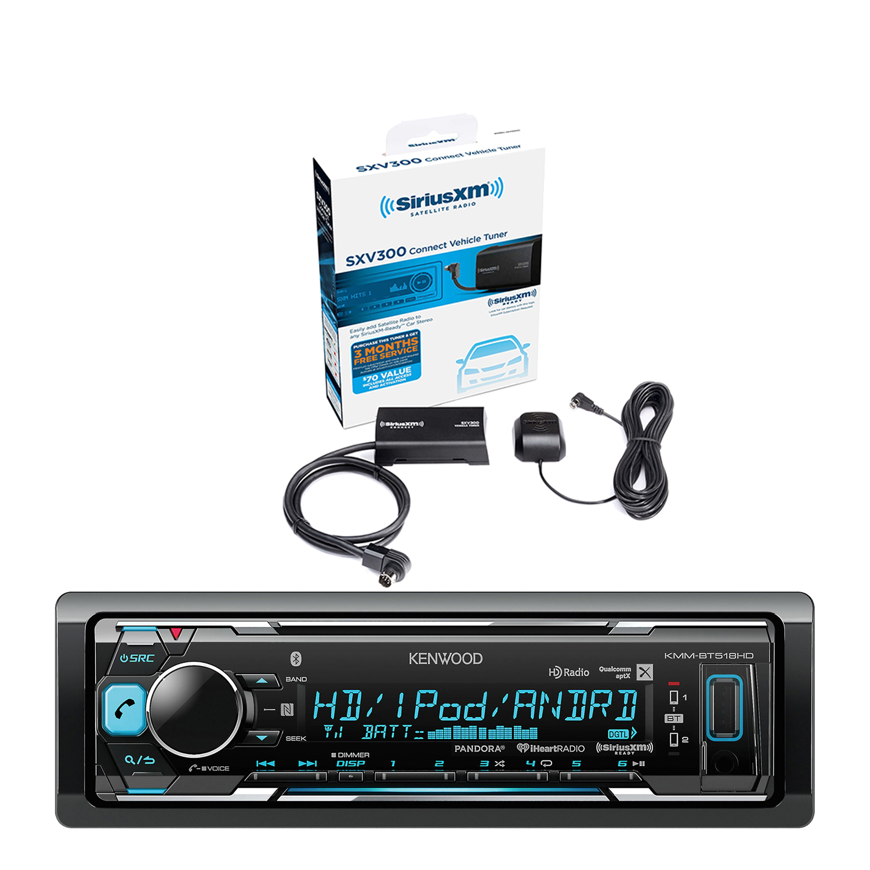 Kenwood In-Dash Stereo Receiver, Bluetooth, HD Radio, Pandora ...