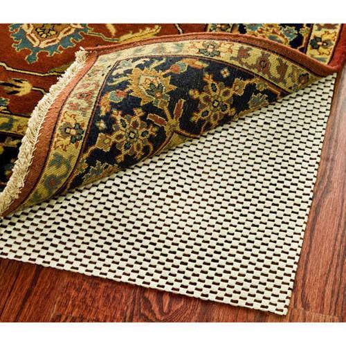 mainstays non-skid rug pad, creme - walmart