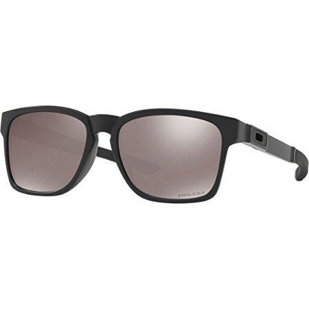 Oakley Mens Catalyst Polarized Sunglasses  Matte Black Prizm Black  One Size