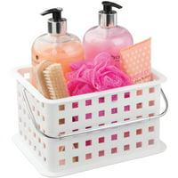 Mainstays Plastic Bathroom Shower Caddy, 1 Each