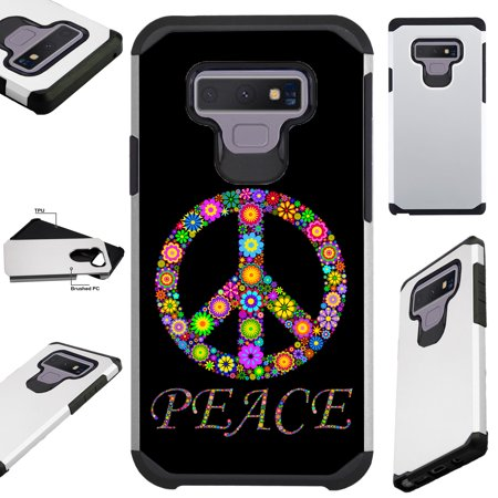 For Samsung Galaxy Note 9 Case Hybrid TPU Fusion Phone Cover (Peace (Peace Note)