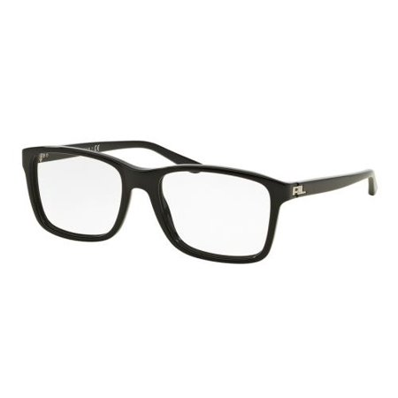 RALPH LAUREN Eyeglasses RL 6141 5001 Black 55MM