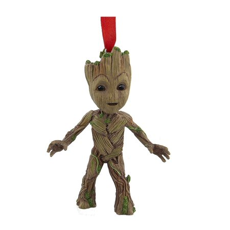 Disney Parks Guardians of the Galaxy Groot Resin Ornament New with - Avengers Ornaments