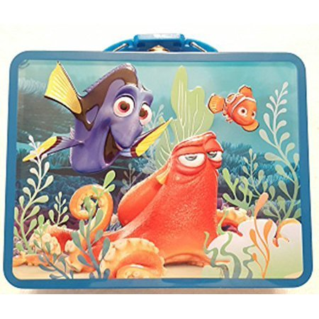 The Tin Box Company Finding Dory Nemo and Hank Carry All Tin, 7 5/8 x 6 x 2 3/4/Large - image 1 of 1
