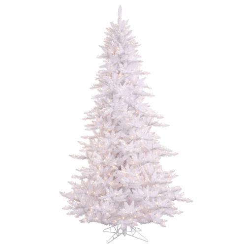 10' Pre-Lit Winter White Fir Artificial Christmas Tree - Clear Lights