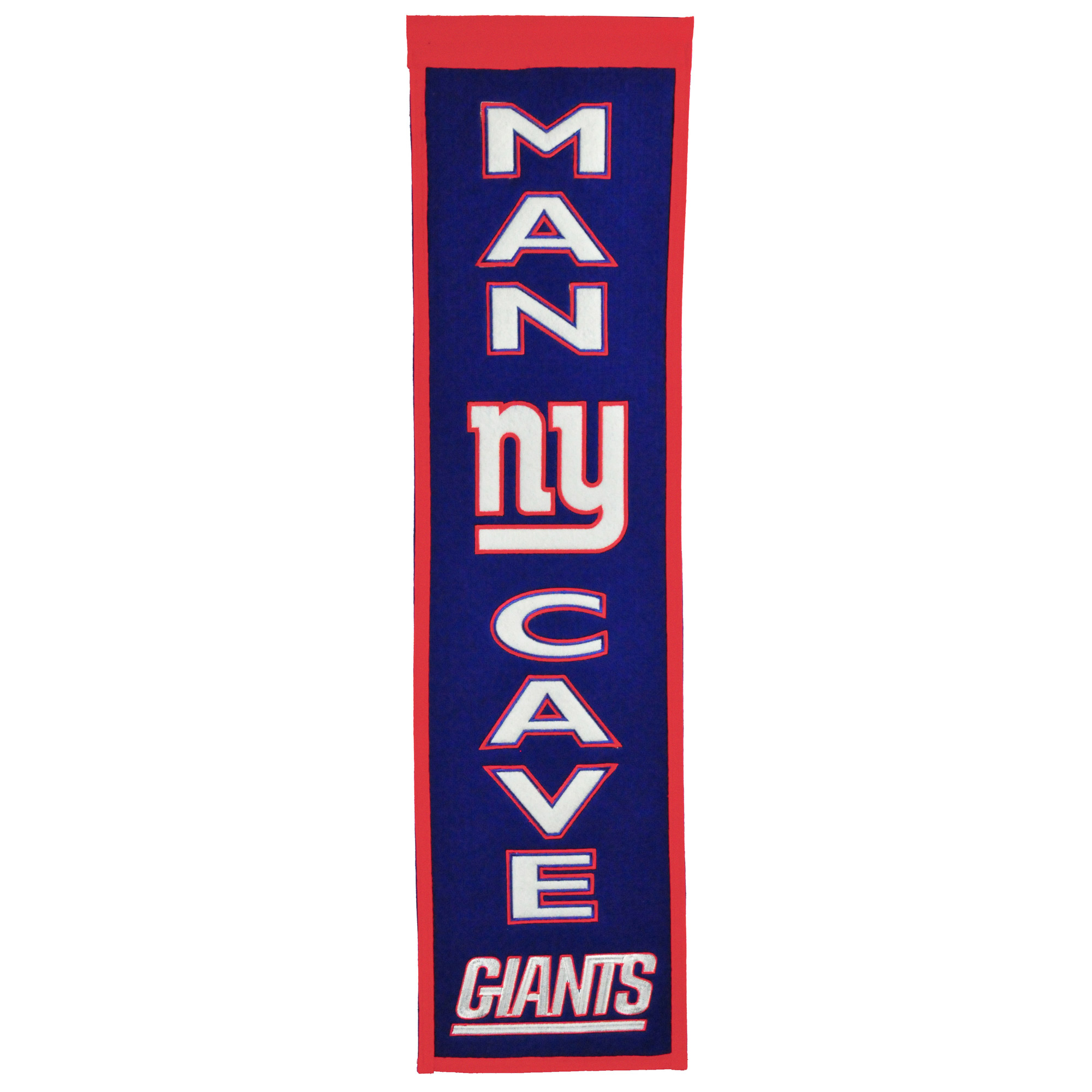 """New York Giants 8"""" x 32"""" Man Cave Banner - No Size"""