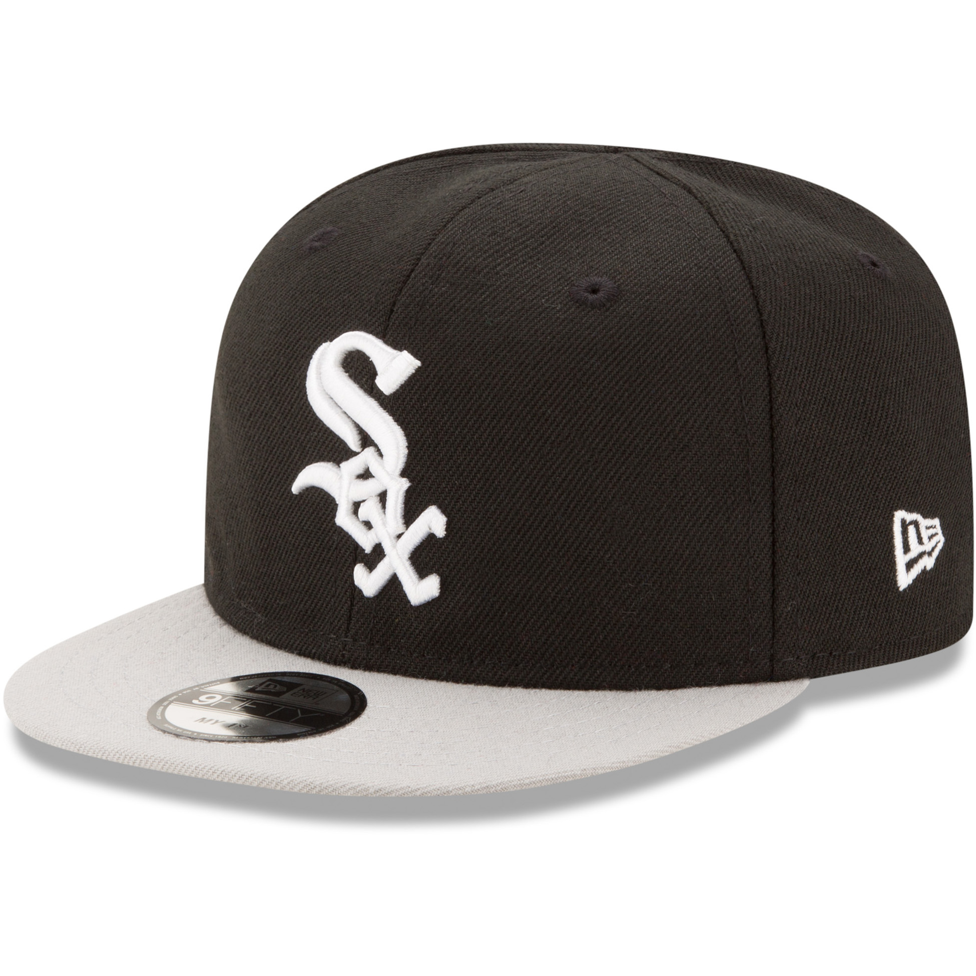 Chicago White Sox New Era Infant My First 9FIFTY Adjustable Hat - Black - OSFA