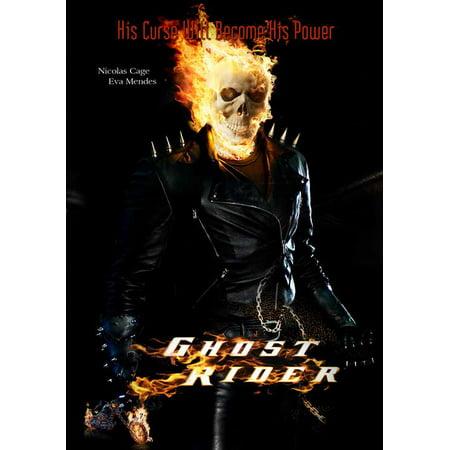 Ghost Rider Movie Poster 11 X 17 Walmart Com