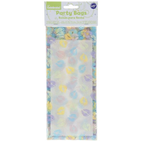 Wilton Baby Feet Party Bag, 20 Count