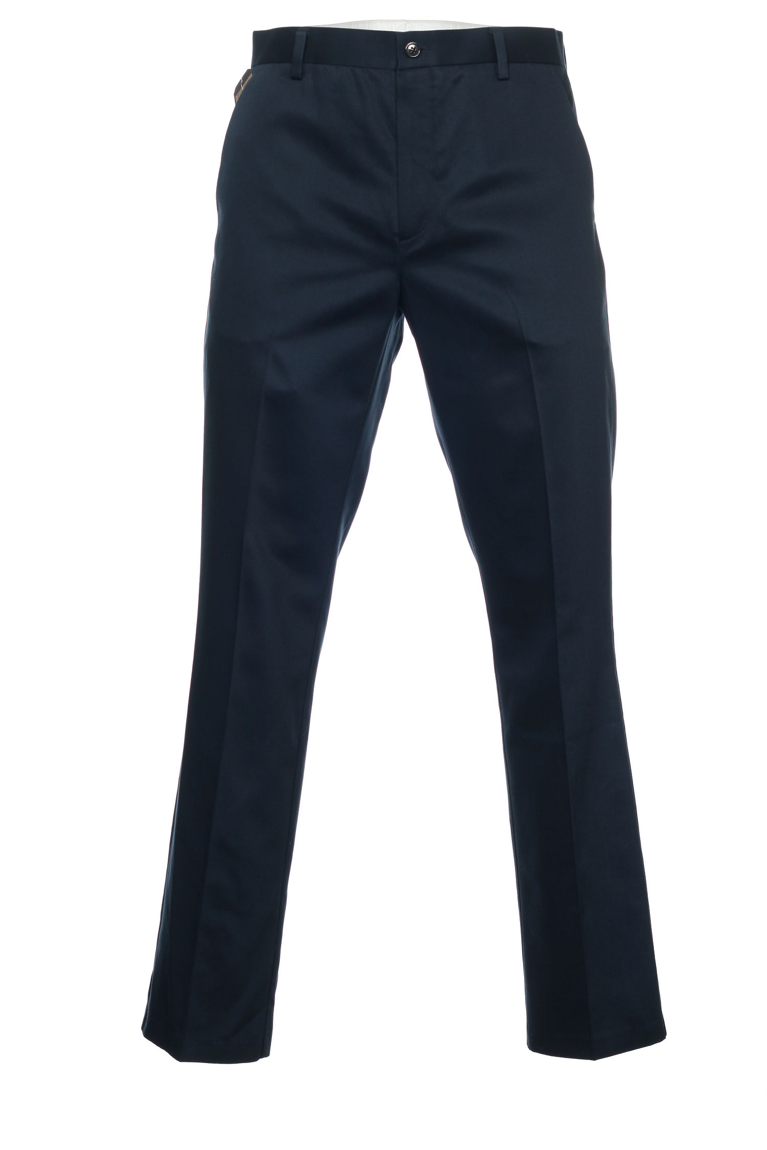 Dockers Men's Blue Flat Front Pants by Dockers