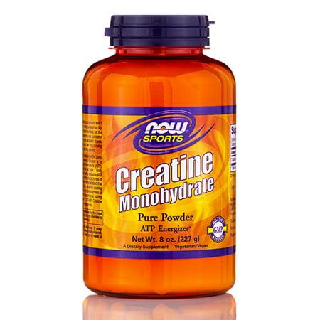 NOW Sport - Poudre Créatine Monohydrate - 8 oz (227 grammes) par NOW
