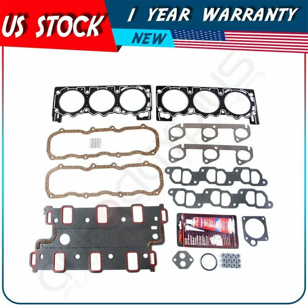 SCITOO Compatible with Valve Cover Gasket Sets Right 22 Grommets KIT Engine Valve Covers Gaskets Automotive Replacement Gasket Sets fit BMW E31 E32 E34 E38 E39 Left