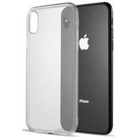 "iPhone Xs Max Clear Case, Transparent Flex Gel TPU Skin Case Slim Cover for Apple iPhone Xs Max (Size 6.5"" model) (iPhone 10s Max)"