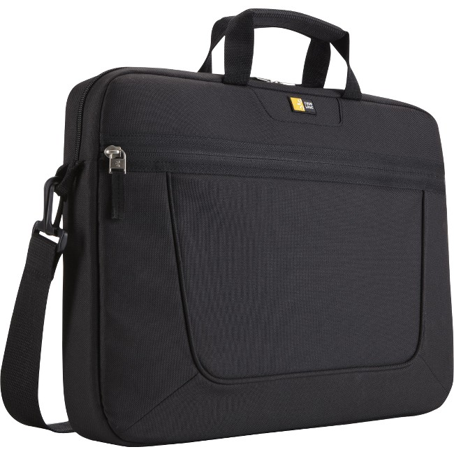 "Case Logic 15.6"" Top-Loading Laptop Briefcase, Black"