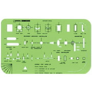 Alvin&Co 47R Instrument Symbols Drawing Template
