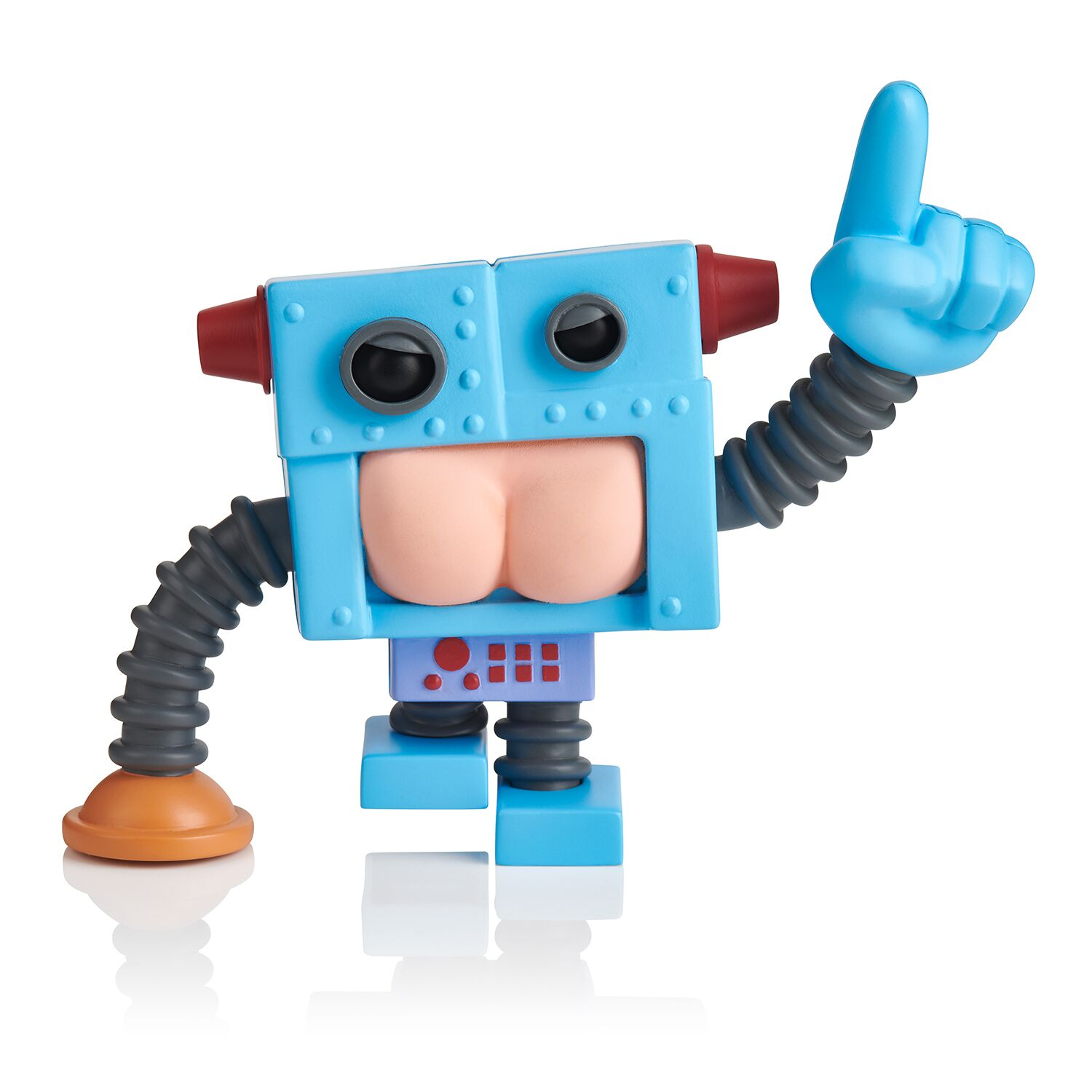 Buttheads - Robutt (Robot) - Interactive Farting Figurine - By WowWee