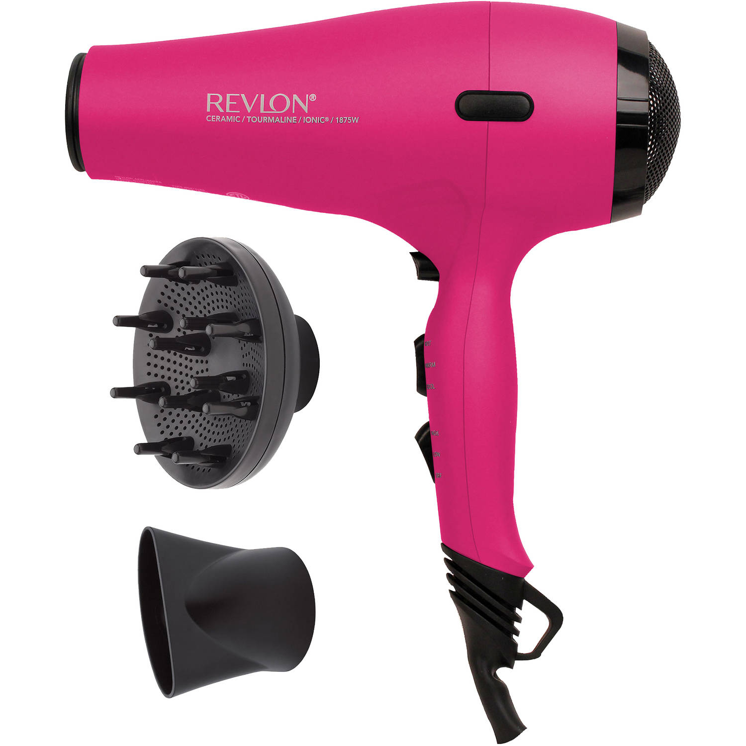 Revlon ProCollection 1875W Soft Feel AC Motor Hair Dryer, Pink