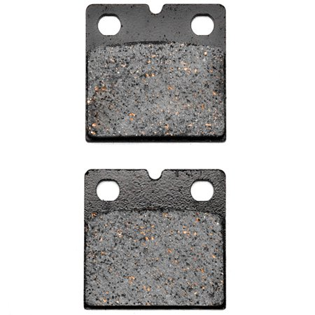 KMG Rear Brake Pads for 2009-2010 Indian Chief Deluxe (Brembo calipers) - Non-Metallic Organic NAO Brake Pads Set - image 1 of 4