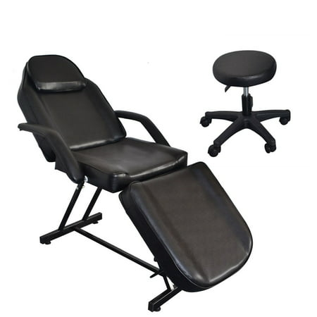 Tremendous Ubesgoo 73 Inches Adjustable Tattoo Massage Acupuncture Barber Chair For Facial Spa Salon Beauty With Hydraulic Stool Pabps2019 Chair Design Images Pabps2019Com