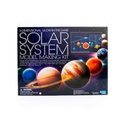 4M 3D Glow-in-the-Dark Solar System Mobile Making Kit - DIY Science Astronomy Learning Stem Toys Educational Gift for Kids & Teens, Girls & Boys