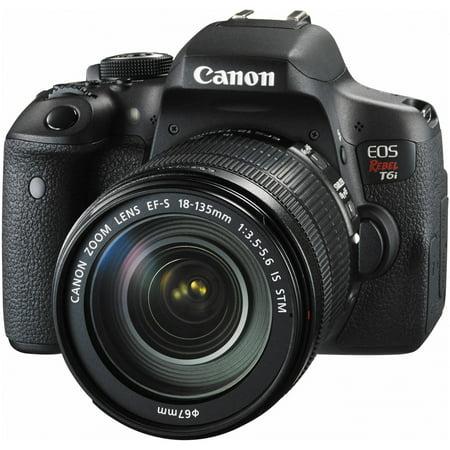 Canon EOS Rebel T6i 24.2 Megapixel Digital SLR Camera Body