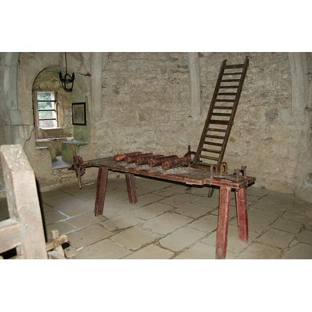 Canvas Print Torture Torture Chamber Historical Rack Stretched Canvas 10 x 14