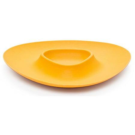 Bamboozle Bamboo Chip and Dip Tray (Mustard) (Dip Tray)