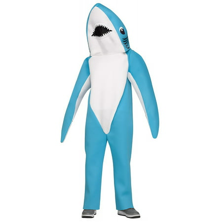 Blue Shark Adult Costume - Cute Shark Costume