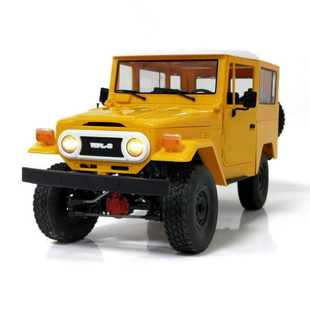 WPL C34KM 1/16 4WD 2.4G 2CH Buggy Crawler Off Road RC Car Vehicle Toy Metal Models Kit With Head Light (Rc Dune Buggy Kit)